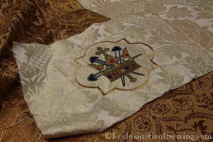 Evesham and St. Margaret Liturgical Church Vestment Fabric