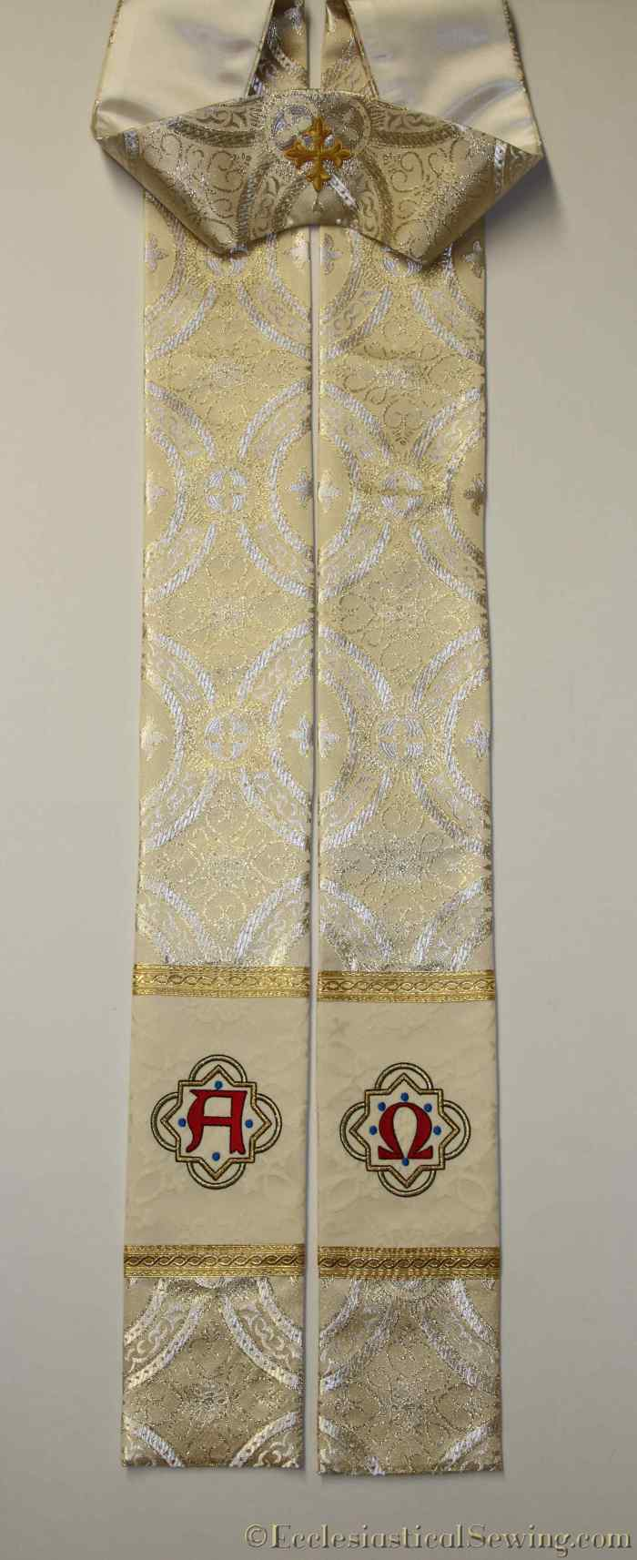 alpha-omega-stole-in-ivory-brocade-1