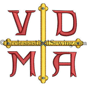 Reformation VDMA embroidered design