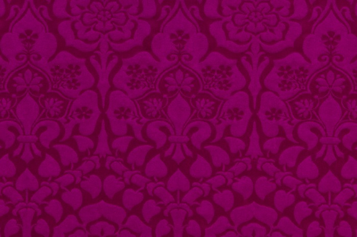 Winchester Roman Purple Brocade