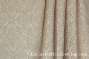 Chelsmford Religious Damask Fabric