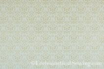 Eveshan Ivory Gold Liturgical Brocade
