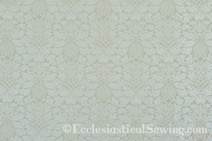 Fairford Ivory Liturgical Brocade Fabric