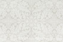 Florence White Liturgical Brocade Fabric