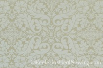 Florence Ivory Liturgical Brocade