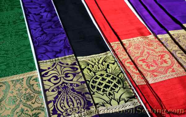 Pastoral Stoles made for Liturgical fabric