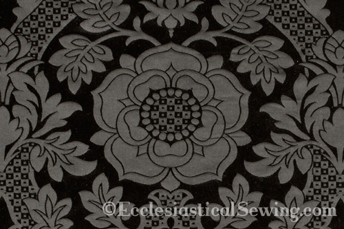 St. Margaret Tudor Rose Detail for Church vestments and historic costumes