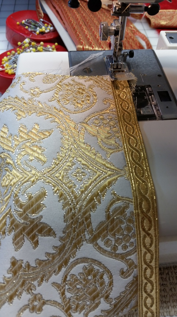 St. Benet Religious Trim for Church Vestments