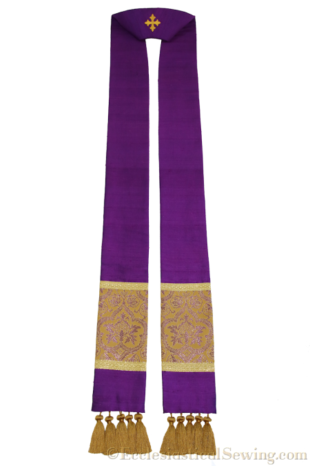 lent-violet-silk-dupioni-stole-with-orphrey