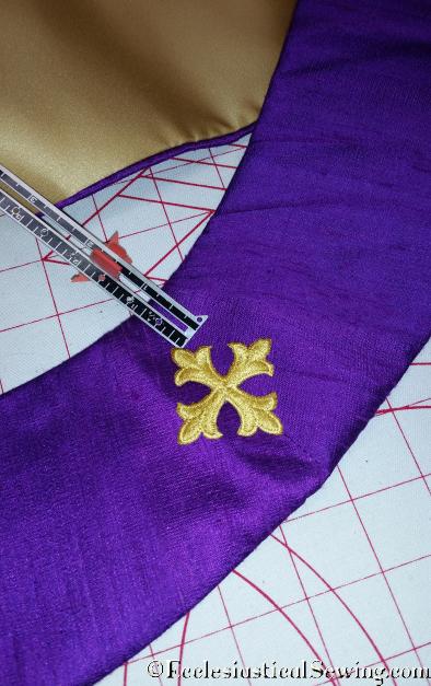 Purple Advent and Lent Stoles