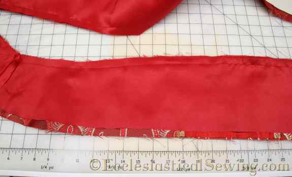 sewing a pastor stole