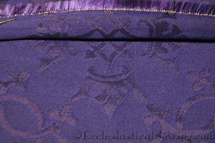 Religious fabric pattern matching