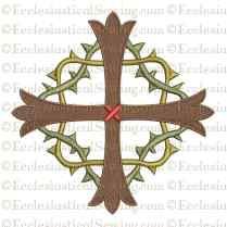 Lent Cross Digital Embroidery Design