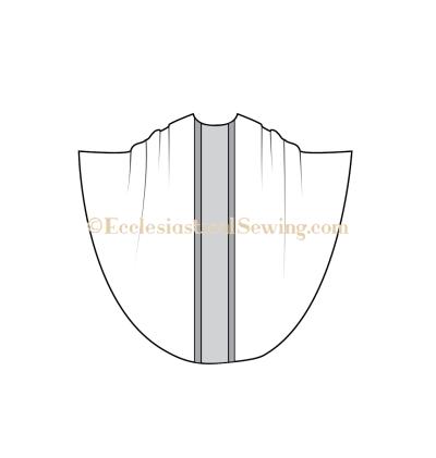 Monastic chasuble pattern