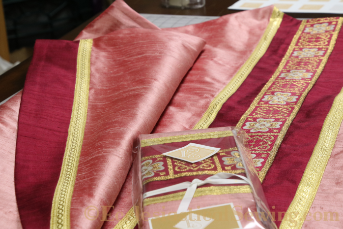 Gaudete and Laetare Rose Vestments for Advent and Lent