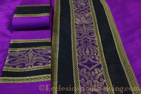Violet Lent Chasuble