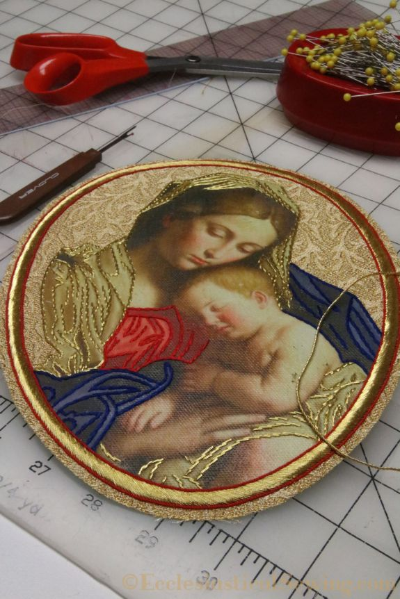 Goldwork Applique Ecclesiastical Sewing