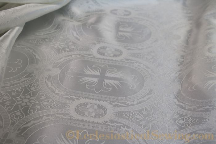 Liturgical Brocade Church Vestment Fabric