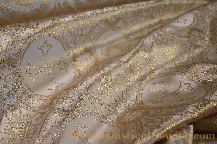 Religious Brocade Church Vestment Fabric