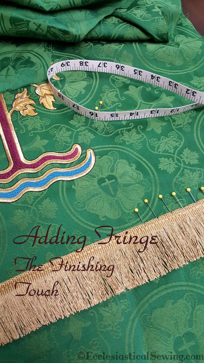 Luther Rose Brocade Liturgical Fabric Higher Things Conferences Fringe trim machine embroidery Church vestments Pulpit fall altar hanging Baxter MN