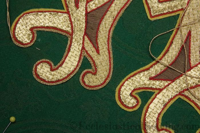 Alpha Omega Goldwork applique
