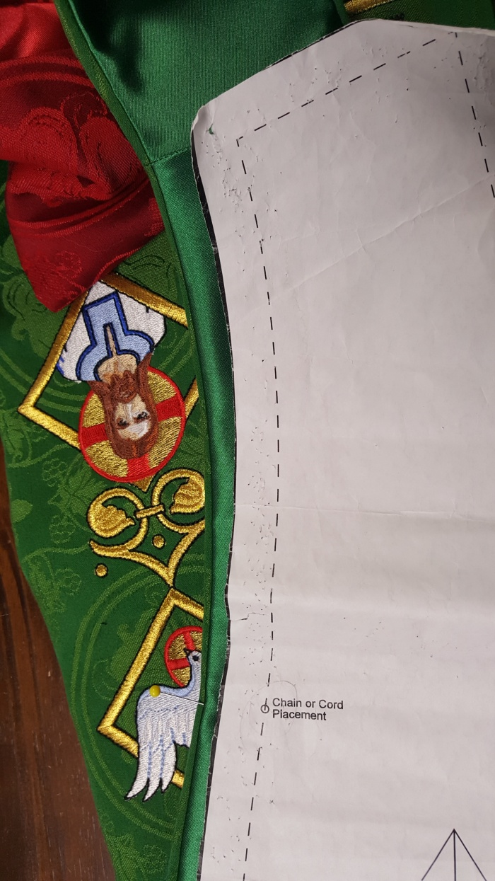 sewing clergy stoles stole making pastor stoles green stoles stole patterns liturgical brocade
