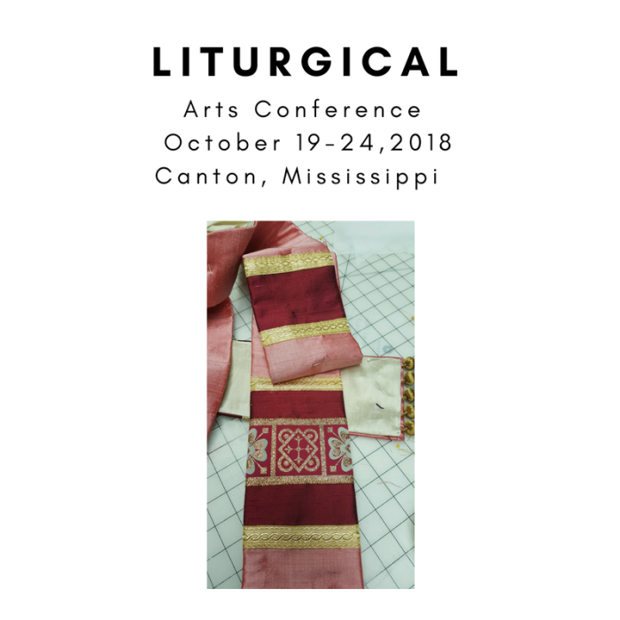 Chasuble Vestment making class stole making class church vestments Liturgical Arts Conference