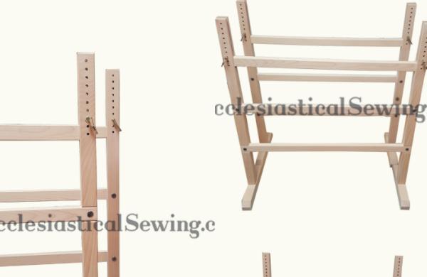 Treste stands hand ebmroidery frames Slate frames