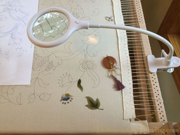 Slate Frame for Crewel Embroidery