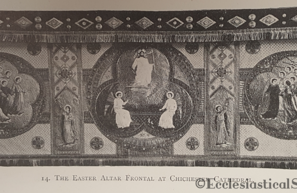 Hannah Wyatt Easter Altar Frontal Chishester Cathedral