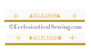 Easter Superfrontal Church vestments Altar hangings Christmas Church Vestments clergy stoles Altar hangings Ecclesiastical Sewing