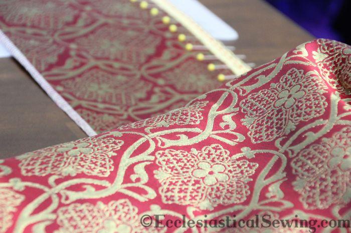 St. Hubert Liturgical Fabric Religious fabric